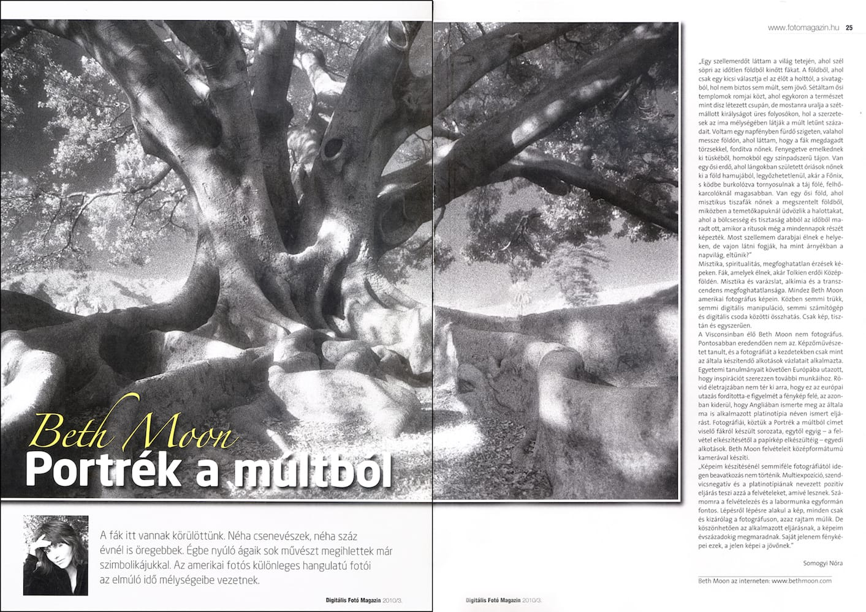 Digitalis Foto Magazin (Hungary) | April 2010 p 24-25