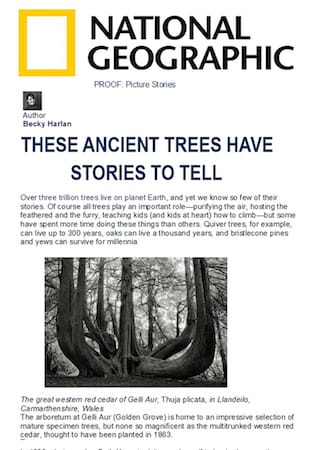 National Geographic | March 14 2016