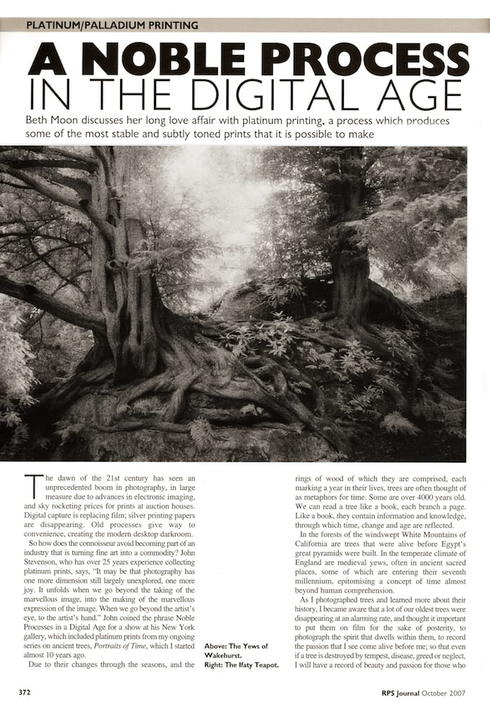 Royal PhotographicSociety Journal | Oct 2007 p 372